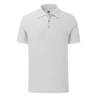 Iconic Polo In Heather Grey