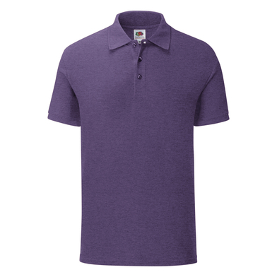 Iconic Polo In Heather Purple