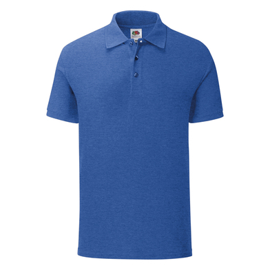 Iconic Polo In Heather Royal
