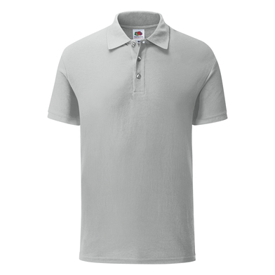 Iconic Polo In Zinc
