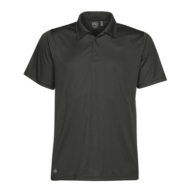 Eclipse H2X-Dry Piqu Polo In Carbon