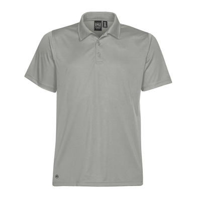 Eclipse H2X-Dry Piqu Polo In Cool Silver