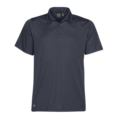 Eclipse H2X-Dry Piqu Polo In Navy