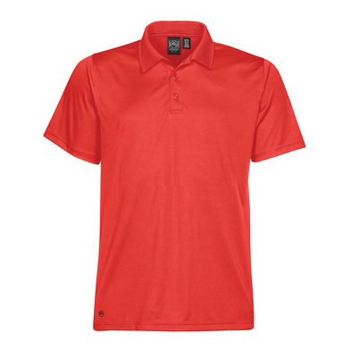 Eclipse H2X-Dry Piqu Polo In Red