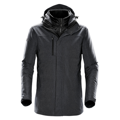 Avalanche System Jacket In Charcoal Twill