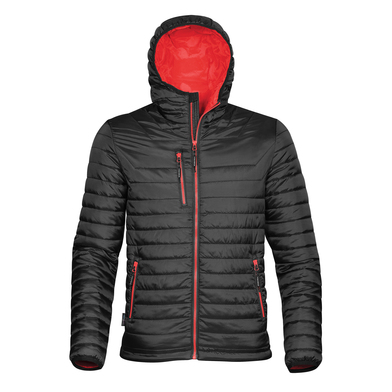 Gravity Thermal Shell In Black/True Red