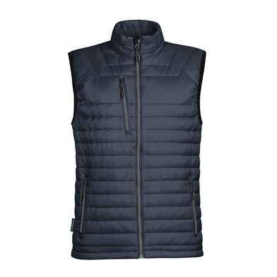 Gravity Thermal Vest In Navy/Charcoal
