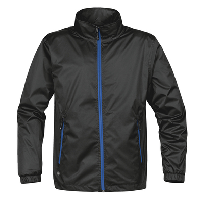 Axis Shell Jacket In Black/Royal