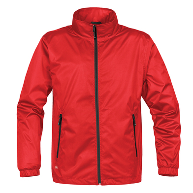 Axis Shell Jacket In Red/Black
