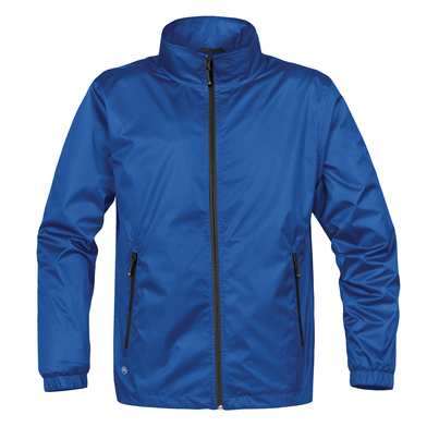 Axis Shell Jacket In Royal/Black