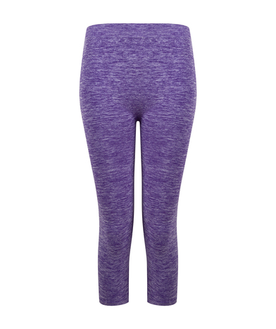 Tombo - Women's Seamless Cropped Leggings