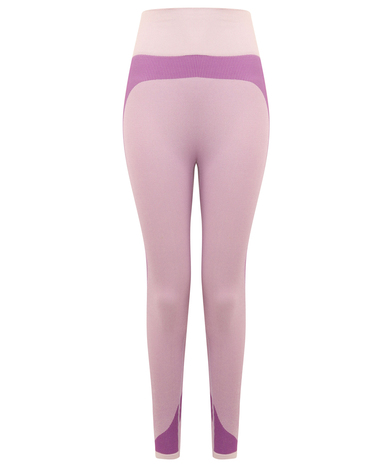 Tombo - Women's Seamless Panelled Leggings