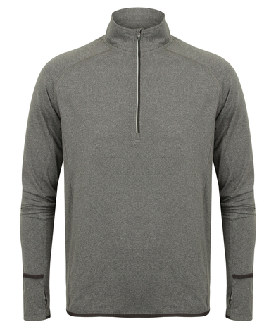 Tombo - Long Sleeve  Zip Top