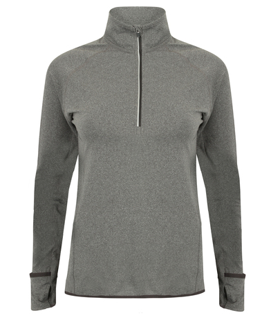 Tombo - Women's Long-sleeved _ Zip Top
