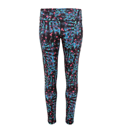 TriDri - Women's TriDri Performance Neon Marine Leggings Full-length