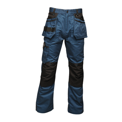 Incursion Trousers In Blue Wing