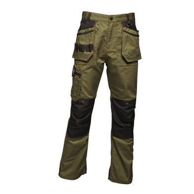 Incursion Trousers In Dark Khaki