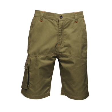 Heroic Cargo Shorts In Dark Khaki