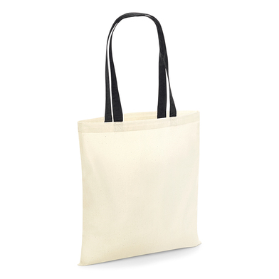 Bag For Life - Contrast Handles In Natural / Black