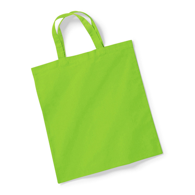 Bag For Life - Short Handles In Lime Green