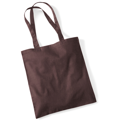 Bag For Life - Long Handles In Chocolate