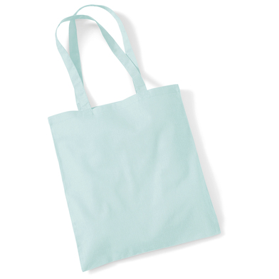 Bag For Life - Long Handles In Pastel Mint
