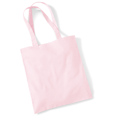 Bag For Life - Long Handles In Pastel Pink
