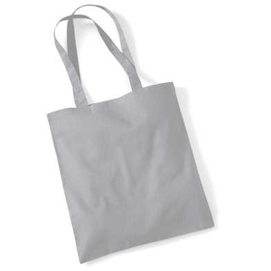 Bag For Life - Long Handles In Pure Grey
