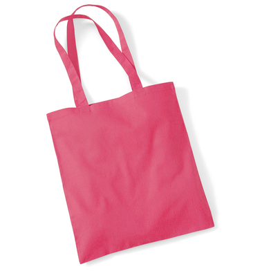 Bag For Life - Long Handles In Raspberry Pink