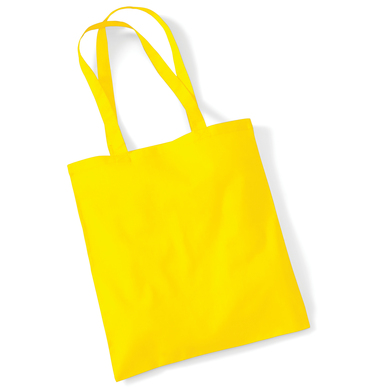 Bag For Life - Long Handles In Yellow