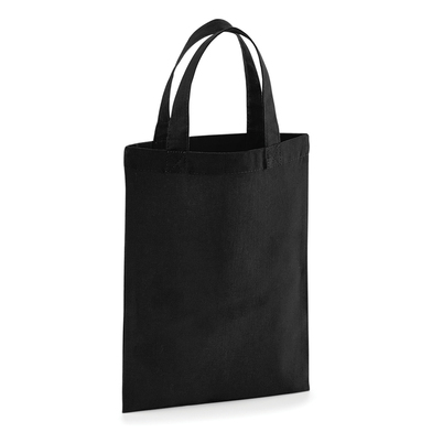 Cotton Party Bag For Life In Black