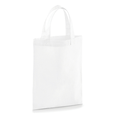 Cotton Party Bag For Life In White