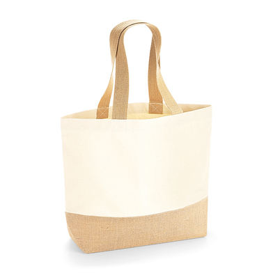 Westford Mill - Jute Base Canvas Tote