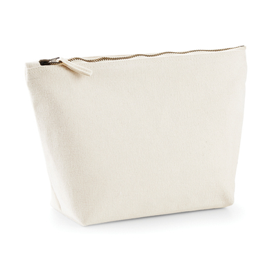 Canvas Accessory Bag In Natural