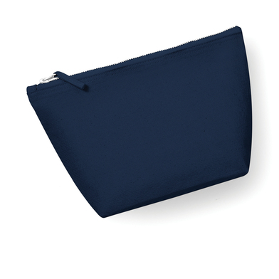 Canvas Accessory Bag In Navy