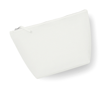 Canvas Accessory Bag In Off White