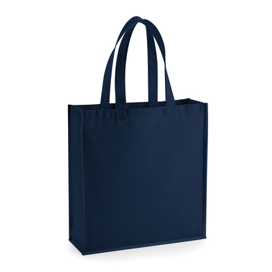 Gallery Canvas Tote In French Navy