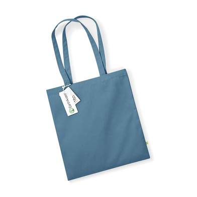 EarthAware Organic Bag For Life In Airforce Blue