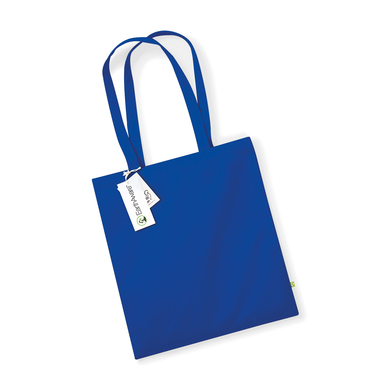 EarthAware Organic Bag For Life In Bright Royal