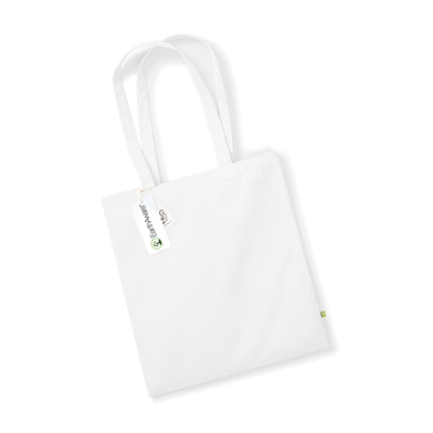 EarthAware Organic Bag For Life In White
