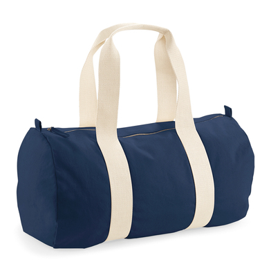 EarthAware� Organic Barrel Bag In French Navy