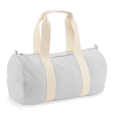 EarthAware� Organic Barrel Bag In Light Grey