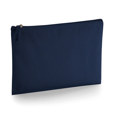 EarthAware Organic Accessory Pouch In French Navy