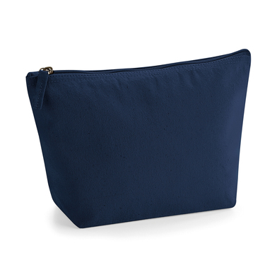 EarthAware Organic Accessory Bag In French Navy