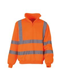 Hi-vis 1/4 Zip Sweatshirt (HVK06)