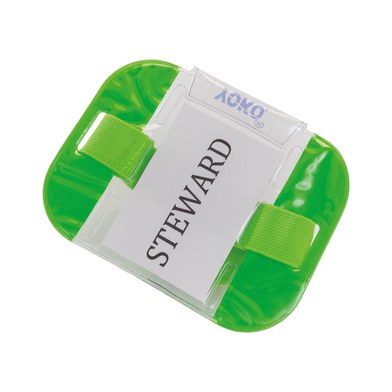 ID Armbands (ID03) In Fluorescent Green
