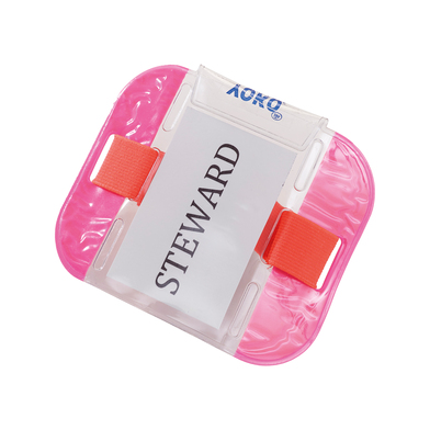 ID Armbands (ID03) In Fluorescent Pink