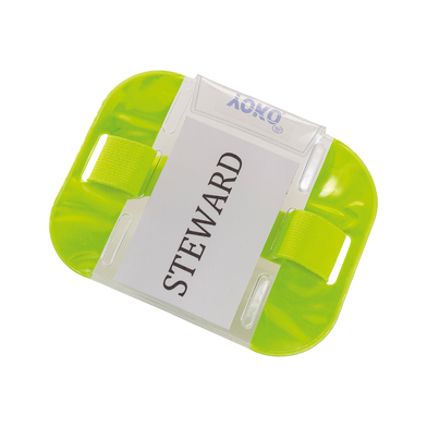 ID Armbands (ID03) In Fluorescent Yellow