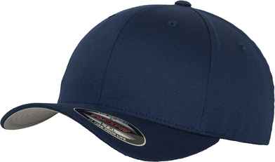 Flexfit Fitted Baseball Cap (6277) In Navy