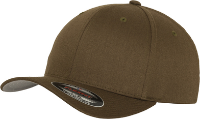 Flexfit Fitted Baseball Cap (6277) In Olive